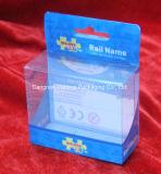 Imballaggio trasparente della visualizzazione dei componenti elettronici di Stationay del giocattolo del contenitore di PVC