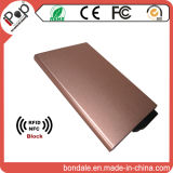 보호 RFID 최고 지갑 주석 신용 카드 홀더