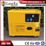 5 kW 6 kVA generador de reserva Diesel Silencioso