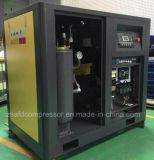 90kw/120HP Compressor de In twee stadia van de Lucht van de Schroef van de Omschakelaar van de Lucht van de Luchtkoeling