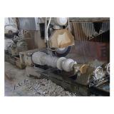 Cortador de piedra de mármol de la columna del granito
