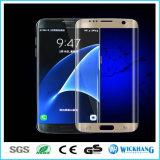 protecteur Tempered de la meilleure qualité d'écran de film en verre de la pleine couverture 3D pour le téléphone de galaxie de Samsung