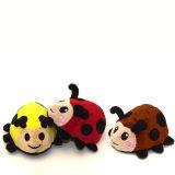 Marienkäfer-Plüsch-Spielzeug-kundenspezifisches Tier angefülltes Spielzeug