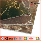 Black Coffer Pattern Stone ACP pour Showroom Decoration