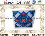 Painel do PVC do teto do PVC e de parede do PVC painel 595/600/603 da decoração do painel