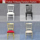 Heiße Verkaufs-Hotel-Möbel-Aluminiumpartei-Tiffany-Stuhl mit Kissen für Hochzeit Yc-A200
