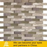 Horizont-Dekoration-Stein-Mosaik mit Kristallglas für Wand 8mm