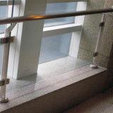 Balaustra di vetro dell'acciaio inossidabile del corrimano dell'interno all'ingrosso