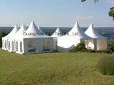 3X3m, 4X4m, 5X5m Kurbelgehäuse-Belüftung verzierten Pagode-Zelt für im FreienHochzeitsfest-Ereignisse