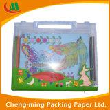 Коробка PVC нового прибытия 2017 бумажная с ручкой для пакета игрушки