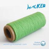 L'usato copre la maglietta mescolata cotone del poliestere 70% del materiale 30% che lavora a maglia il filato tinto