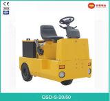 Hoogste Verkoop Tractor Met drie wielen van het Slepen van 4.0 Ton de Elektrische met Goede Prijs