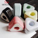 陶磁器簡単な多彩の陶磁器グループの歯ブラシのホールダー
