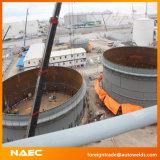 Solution longitudinale de construction de réservoir