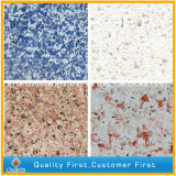 Pedra artificial branca de quartzo para bancadas/Worktops, produtor de quartzo