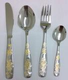 Cutlery 18/8 нержавеющей стали установил/Flatware установленный с высокий полировать