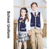 Le type neuf badine des uniformes scolaires dans des écoles d'Etat de 100%Cotton