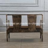 주제 대중음식점을%s 팔 나머지에 고대 오래된 형식 두 배 시트 의자