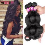 Weave do cabelo humano de Remy do cabelo do Virgin do brasileiro da venda por atacado 100%