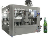 Cerveza de la botella de cristal del SGS Bcgf18-18-6 máquina que capsula de relleno que se lava 3 in-1