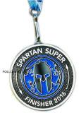 Medaglia del premio per la stazione di finitura spartana di Sprint per il regalo