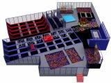 Binnen het Springen van de Trampoline van het Vermaak van de Trampoline van de Trampoline Kleine Trampoline