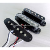 Bobina plana simple AlNiCo 5 Rod Strat Guitar Pickup