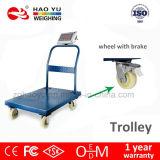 Haoyu 전자 트롤리 가늠자 1000kg 수용량