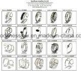 2017最も新しい方法925純銀製の宝石類のリング(R10638)