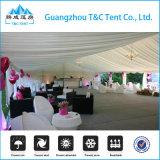 屋外のイベントの500人のための一義的で贅沢な結婚披露宴の玄関ひさしのテント