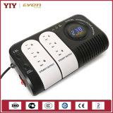 Tipo del relais de la CA que cambia la visualización de LED del regulador de voltaje automático