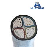 cable de transmisión acorazado de la base 25mm2 del conductor 4 del cobre 0.6/1kv o del aluminio