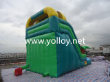 Green Forest inflable de diapositivas para la venta