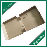 Flexo imprimió el rectángulo del acondicionamiento de los alimentos del papel de Kraft