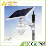 Indicatori luminosi a energia solare dell'iarda LED del giardino di Sq-T12 9W 12W 18W con la batteria di litio