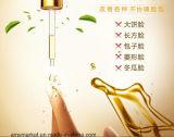 Il fiore naturale puro dell'olio essenziale di Afy lascia l'olio dell'essenza del fronte dell'ingrediente della pianta delle filiali della frutta