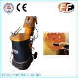 Máquina de pulverização eletrostática em pó com pistola de pintura