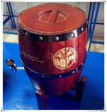 Бочонок пива бочонка вина верхней части таблицы фабрики используемый оптовой продажей малый деревянный