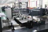 Chaîne de production enregistrée sur bande par colle froide automatique de la colle eb de machine de cahier