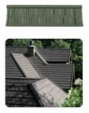 Покрасьте каменными покрынную обломоками плитку крыши металла (классическая плитка)