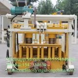 Qt40-3A bewegliche Hydrobildung-konkrete hohle Block-Formteil-Maschine in Ghana