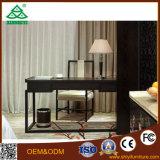 [سليد ووود] سوداء مع لوح خشب ورد غرفة نوم أثاث لازم غرفة نوم مجموعة