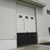 Porte industrielle sectionnelle automatique de garage