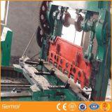 Gril augmenté de maille en métal d'acier inoxydable faisant la machine