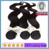 最上質の卸し売り自然なブラジルの人間の毛髪
