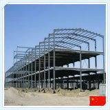 Светлое полуфабрикат здание стальной структуры для мастерской или пакгауза