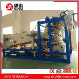 ベルトフィルター出版物の普及した沈積物の排水機械