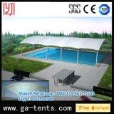 Tienda grande los 30m los x 60m de la cortina de la piscina de la talla con la cubierta de la prueba de Sun