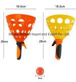 ホッパー形のプラスチック投球および捕獲物の状況セット