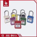Bd-G71-G78 cadenas en acier de sûreté de diamètre coloré du cadenas 4mm Thinshackle